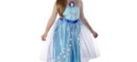 Disney Frozen Enchanting Dress – Elsa, 4-6X