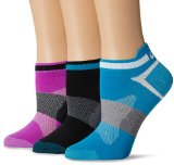 ASICS Women's Quick Lyte Single Tab Socks , Pack of 3 Featured