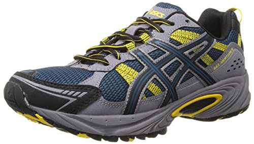 ASICS Men's Gel-Venture 4 Running Shoe,Mallard/Black/Yellow,9.5 M US Featured