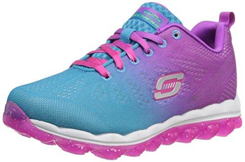 Skechers Kids 80223L Skech Air Running Shoe,Blue/Purple,1 M US Little Kid Featured